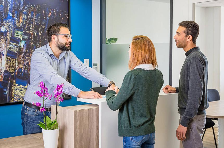 Bureaux Groupe Auril à Voiron