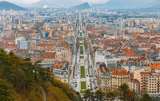 plan d'aménagement urbain Rhône Alpes